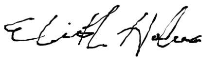 dr. liz signature